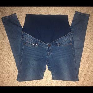H&M Mama Skinny Denim Jeans - EUC